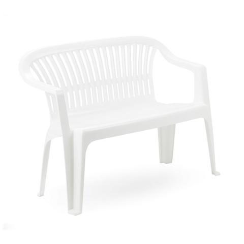 Panchina in Polipropilene Bianco – Modello Diva