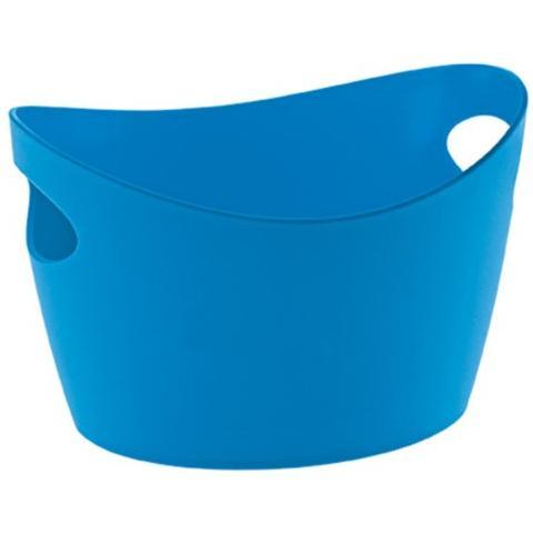 Bottichelli XXS, bacinella, recipiente, cestino, colore: blu
