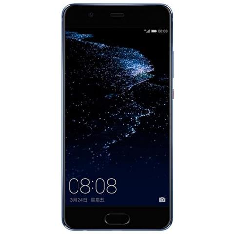 "HUAWEI P10 Plus Blu 128 GB 4G / LTE Display 5.5"" Quad HD Slot Micro SD Fotocamera 20 Mpx Android Europa"