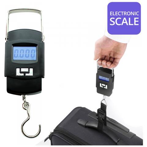 Bilancino Bilancia Gancio Display Digitale Per Valigie Borse Viaggio 50kg Wha08