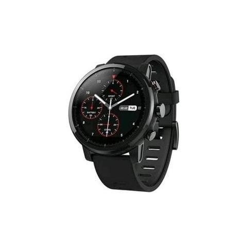 """XIAOMI Smartwatch Amazfit Stratos Impermeabile 5ATM Display 1.34"""" 4GB Bluetooth Wi-Fi Nero - Europa"""
