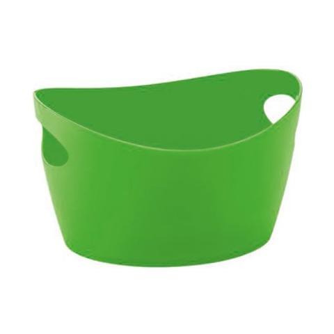 Bottichelli xxs, bacinella, recipiente, cestino, colore: verde mela