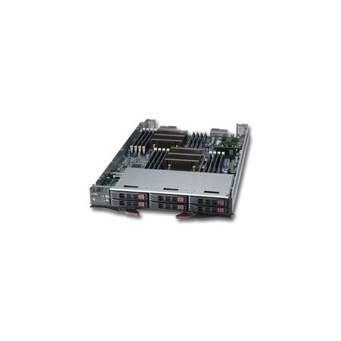 Processor Blade SBI-7127R-S6, Intel C602, Socket R (LGA 2011) , Intel, Xeon, E5-2600, DDR3...