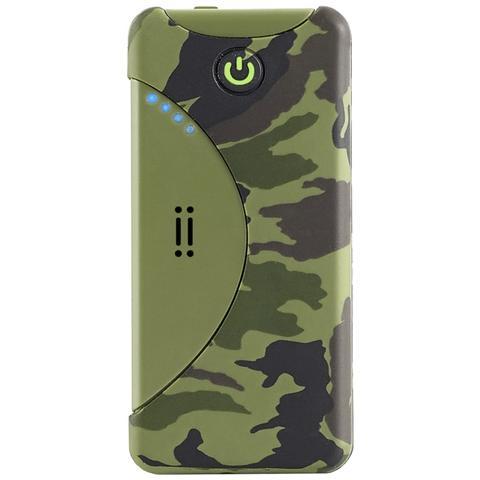 AIINO 5200mAh, Polimeri di litio (LiPo) , USB, Mimetico, USB, Plastica, Fotocamera, MP3, Console portatile, Smartphone, Tablet