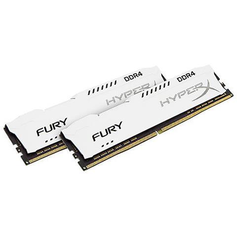 Memoria Dimm HyperX FURY 32 GB (2x16 GB) DDR4 2133 MHz CL 14 Colore Bianco