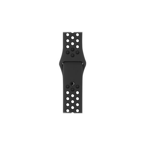 APPLE Cinturino Nike Sport antracite / nero (42 mm) - S / M e M / L