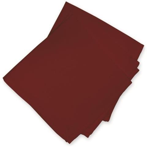 Soleil D' Ocre–set 3tovaglioli Alix, Colore: Rosso