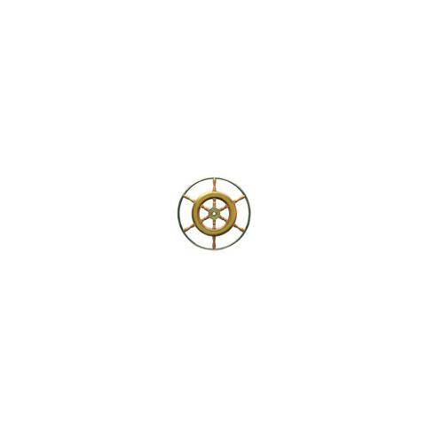 Timone con cerchio inox cm 62
