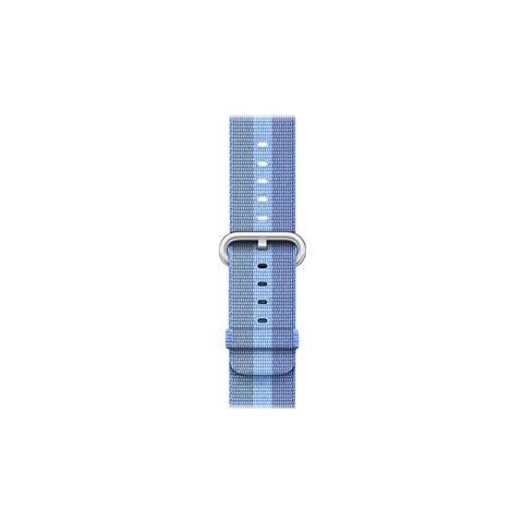 APPLE Cinturino in nylon intrecciato azzurro Tahoe (38 mm)
