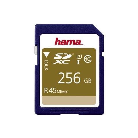 SDXC 256GB 256GB SDXC UHS Classe 10 memoria flash