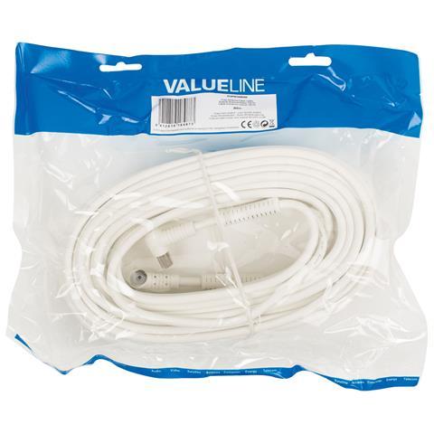 VALUELINE VLSP40120W200, 6,5 cm, 24,5 cm, 30 cm, Coax, Coax