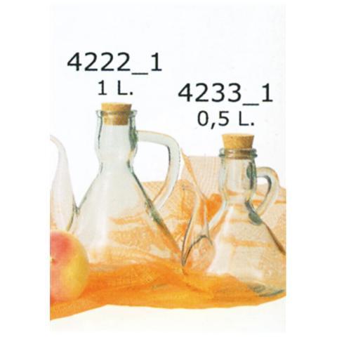 Oliera in Vetro con Tappo 500 ml