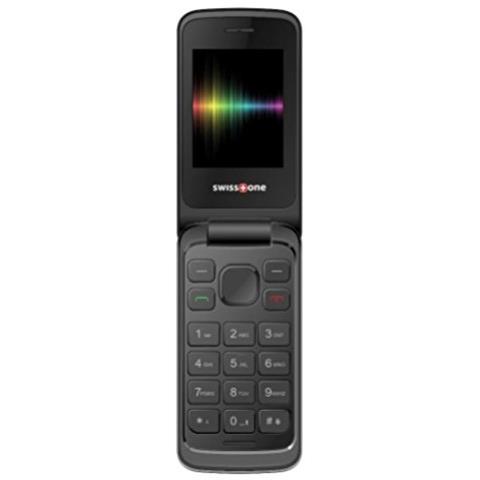 """SWISSTONE SC1660 Display 2.4"""" Dual Sim Bluetooth con Tasti Grandi Fotocamera Colore Argento - Europa"""