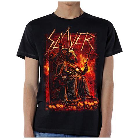 ROCK OFF Slayer - Goat Skull (T-Shirt Unisex Tg. 2XL)