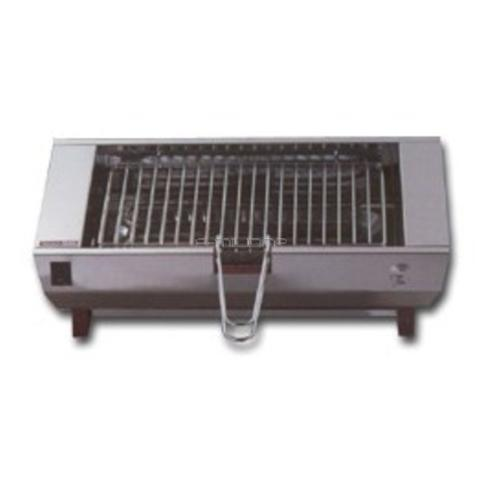 B800E Griglia barbecue elettrica 35 x 23 cm potenza 1900 Watt