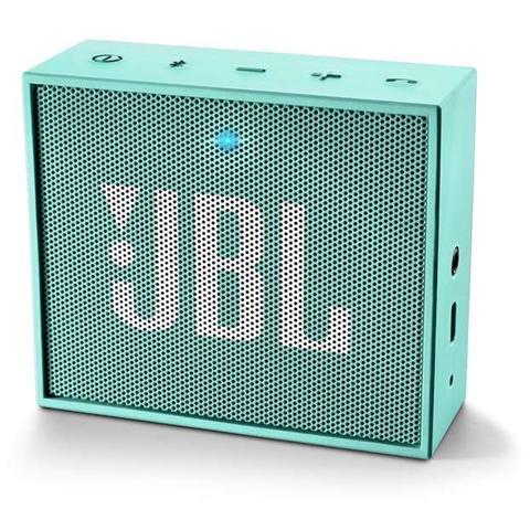 JBL Speaker Audio Portatile GO Bluetooth Ingresso Audio Jack 3.5mm colore Azzurro