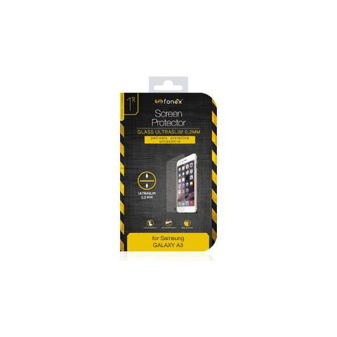 FONEX Protezione Schermo in Vetro Temperato Ultra Sottile 0,2 mm per Galaxy A3 (1Pz)