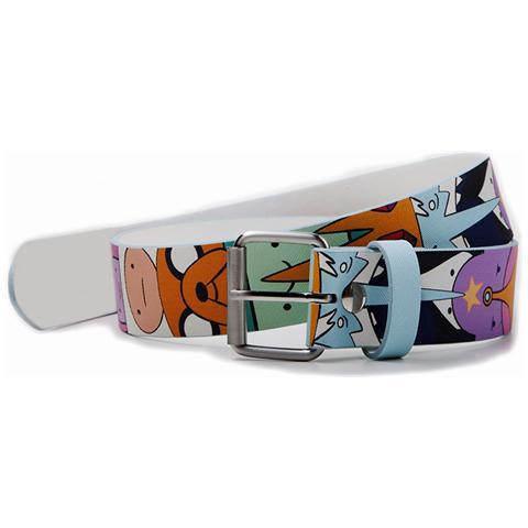 BIOWORLD Adventure Time - Characters Pu Printed Belt (Cintura Tg. XL)