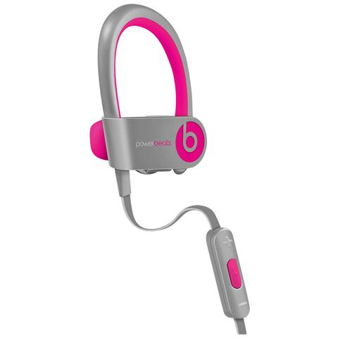Beats by Dre Beats by Dr. Dre Powerbeats² Wireless, Stereofonico, Grigio, Rosa, Interno orecchio, Bluetooth, 9,1m, 0,5m