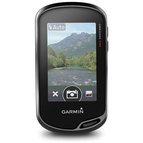 Oregon 750 GPS con Display 3'' Touchscreen connessione Wi-Fi Fotocamera 8Mpx 010-01672-23