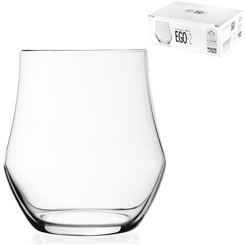 Confezione 6 Bicchieri In Vetro Ego Acqua 2 Cl38.9