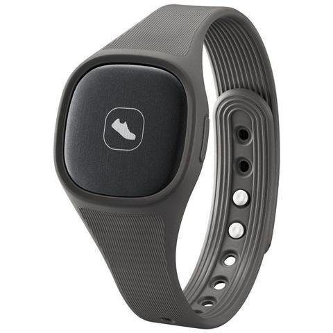Samsung AN900 Braccialetto Fitness connessione Bluetooth Contapassi Calorie e Sonno compatibile con Android 4.3 - Grigio