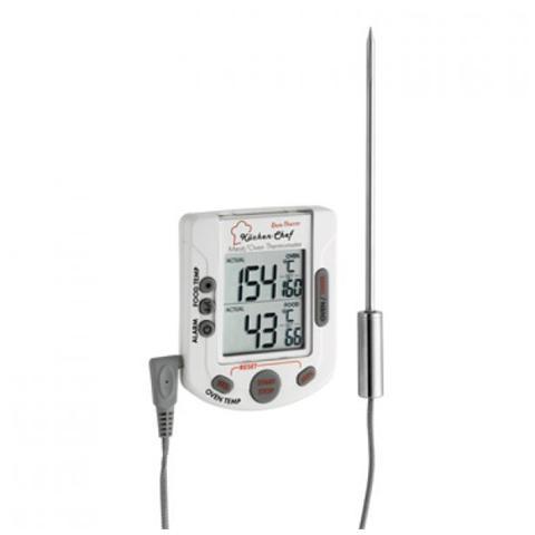 Termometro e timer digitale per arrosto