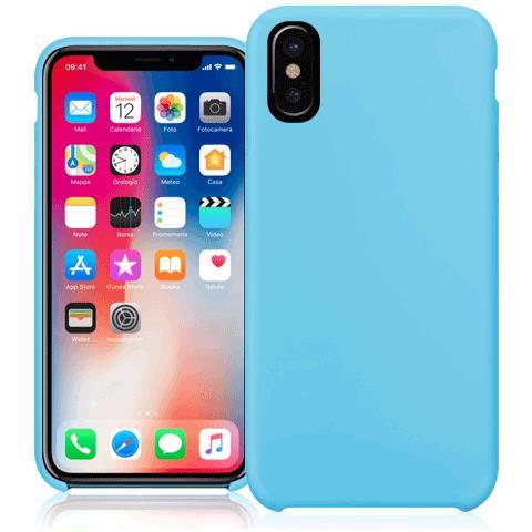 FONEX Cover per iPhone X Colore Blu