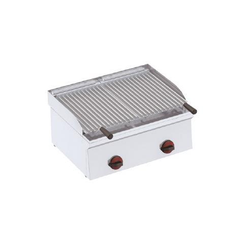 Griglia Pietra Lavica Gas Barbecue Grill Cm 60x45x24 Rs1250
