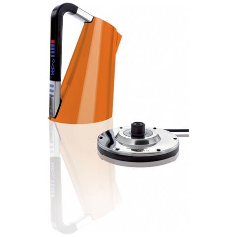 Bollitore Elettronico Vera Capacità 1,7 Litri Potenza 2400 Watt Colore Arancione