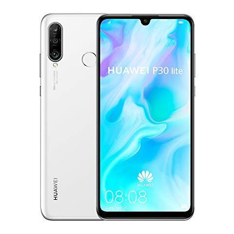 Image of Huawei P30 Lite Bianco 128 GB Dual Sim Display 6.15'' Full HD+ Slot Micro SD Fotocamera 48Mpx Android