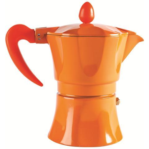 Caffettiera 1 Tazza - Modello Aroma Color Arancione