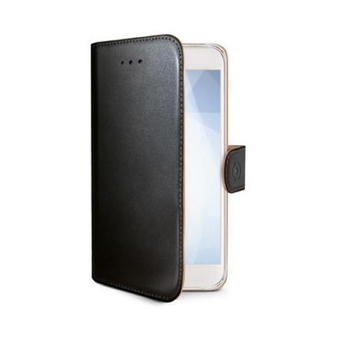 CELLY Flip Cover Custodia per Sony Xperia XZ1 Nero RICONDIZIONATO