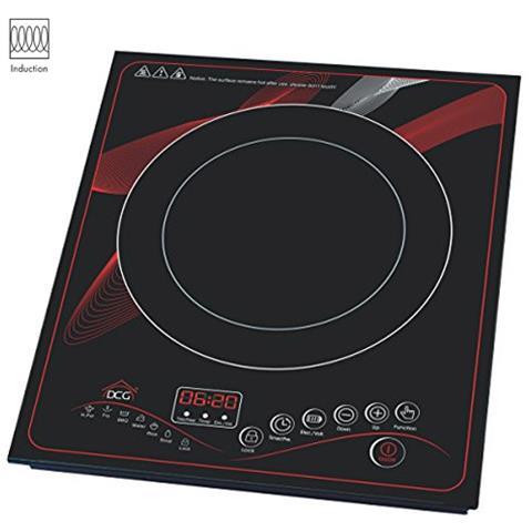 Piastra A Induzione Dcg Cottura Cucina Elettrica Fornello Singolo Ekp2430