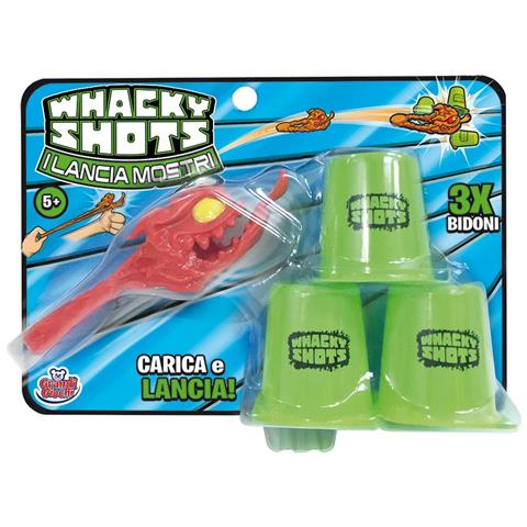 Grandi Giochi Whacky Shots - I Lanciamostri - Blister Singolo