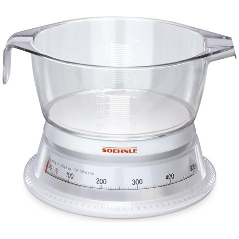 Bilancia da Cucina Bianco 4006501654182