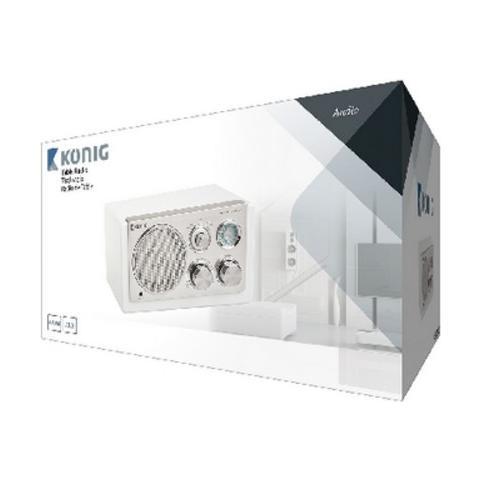 KÖNIG HAV-TR1200, AA, Portatile, Analogico, Analogico, AM, FM, Batteria, DC