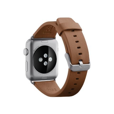 BELKIN Cinturino classico in pelle da 38 mm per Apple Watch - Tan