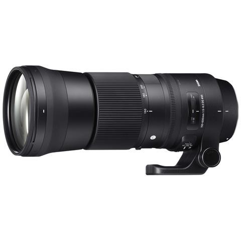 Obiettivo 150-600mm-F / 5-6.3 (C) DG OS HSM Nero
