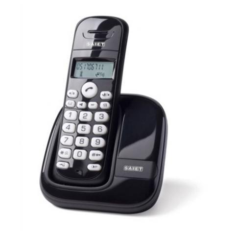 Image of Telefono Cordless Dect Gap - Display Lcd 1 Riga - Vivavoce - Slim Nero
