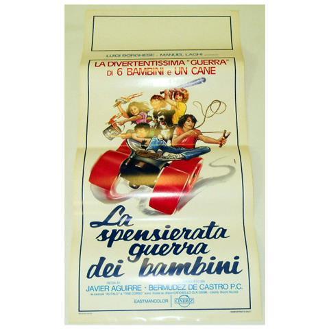 Vendilosubito Locandina Originale Del Film La Spensierata Guerra Dei Bambini