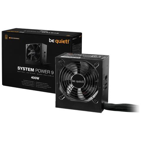 Image of Alimentatore PC System Power 9 80 PLUS Bronze ATX 400W Colore Nero