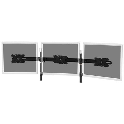 DIGITUS ASSMANN Electronic DA-90333, 75 x 75,100 x 100,200 x 100 mm, Nero, Alluminio, -15 - 15°, -15 - 15°