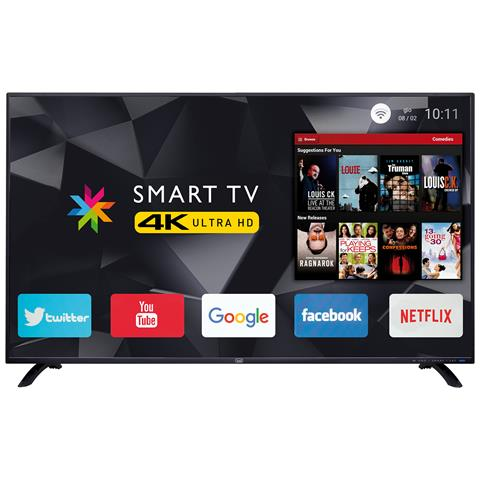 Image of Smart Tv 50' Led Uhd 4k Sat Dvb-t2 Trevi Uhd 5002 Smart