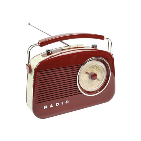 KÖNIG HAV-TR710BR, C, Portatile, Dial scale, Analogico, AM, FM, AC, Batteria
