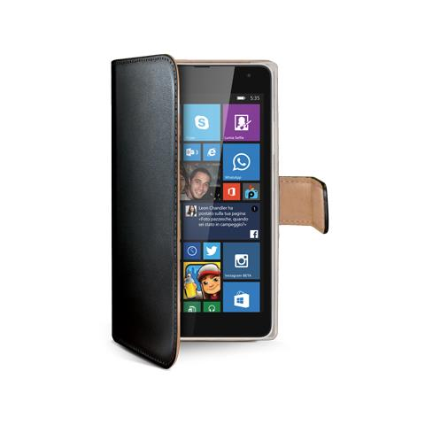 CELLY Wally Case For Lumia 535 Bk