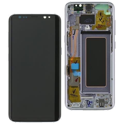 Image of Ricambio Display Originale Lcd Touch Orchid Viola Per Samsung Galaxy S8 Sm-g950