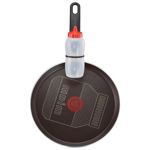 Creative Crepiere Nutella B6199002 25cm Tous Feux Sauf Induction + Flacon Créatif