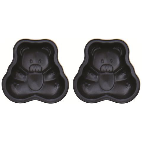 Confezione 2 Ministampi Orso Minis 10,0 x 9,0 cm