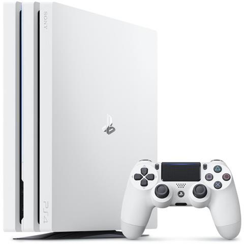 Image of Console Playstation 4 Pro White 4K e HDR 1 Tb